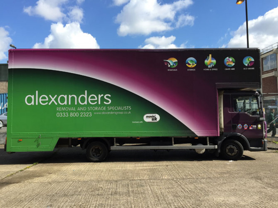 Alexanders-Removals-Lorry-Wrapping-London