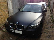 BMW-5-Matte-Black-Vinyl-Wrap