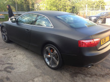audi-wrapped-matted-black