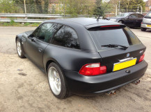 bmw-z3-matte-black-wrap