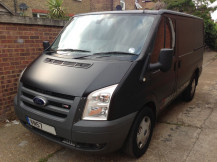 van-wrapping-matte-black