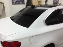 BMW-120-Matte-White-Wrap-Window-Tint
