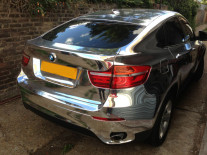 bmw-x6-chrome-wrapped-london