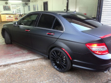 car-wrapping-london-matte-black