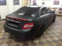 mercedes-matte-black-wrapping-london