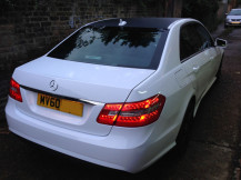 Mercedes-E250-Gloss-White-Wrapping