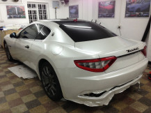 Maserati-wrapping-in-progress