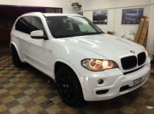 gloss-white-Wrapping-BMW-X5