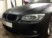 BMW-320D-Wrapping-Matte-Black