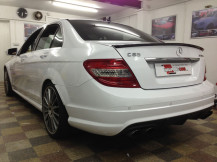 Mercedes-C63-Gloss-White-Wrap