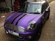 Mini-Clubman-Matte-Metallic-Purple