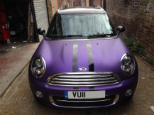 Mini-Clubman-Matte-Purple-Wrap-London