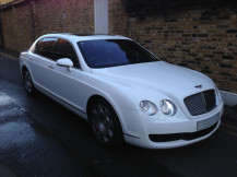 Bentley-flying-spur-Wrapped-White