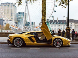 Lamborghini_Chrome_Gold_Wrap