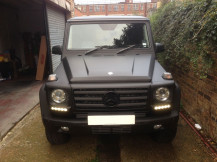 Mercedes-G-Wagon-Matte-Black