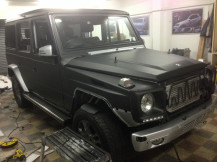 Mercedes-G-class-Wrapping-Progress