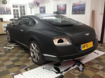 Bentley-Continental-GT-Matte-Black-Wrap-London