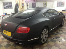 Bentley-Continental-GT-Wrapped-Matte-Black