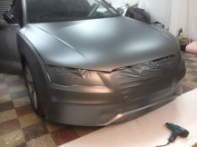 Audi-A7-Matte-Grey-Wrapping