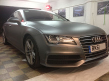 Audi-A7-Wrapped-Matte-Grey