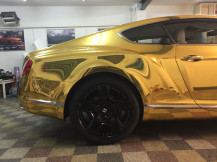 Bentley-Chrome-Gold-WrappingCars