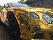 Chrome-Gold-Vehicle-Wrapping-London