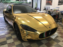 Maserati-gt-chrome-gold-wrap