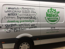 City-Harvest-Van-Signage
