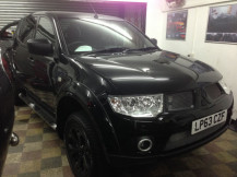 Mitsubishi-L200-chrome-to-Matte-Black-Wrapping