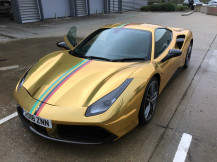 Ferrari Wraps London