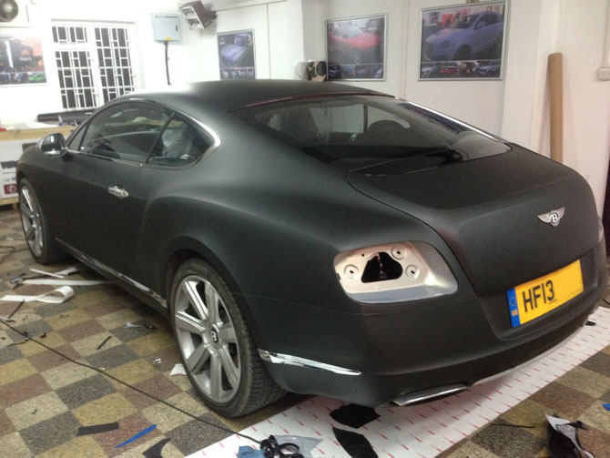 Bentley Vinyl Wrapping London