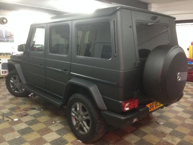 Mercedes g class matte black for Mercedes benz g class black