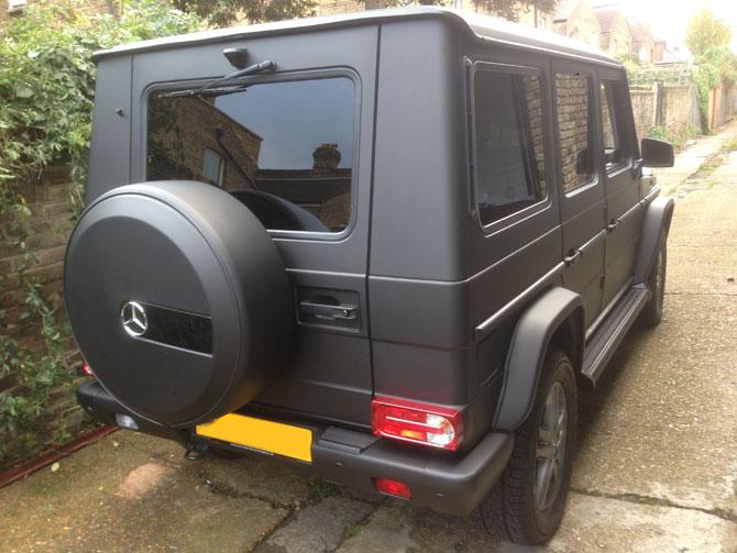 London Window Tinting >> Mercedes G Class Matte Black Wrapping London