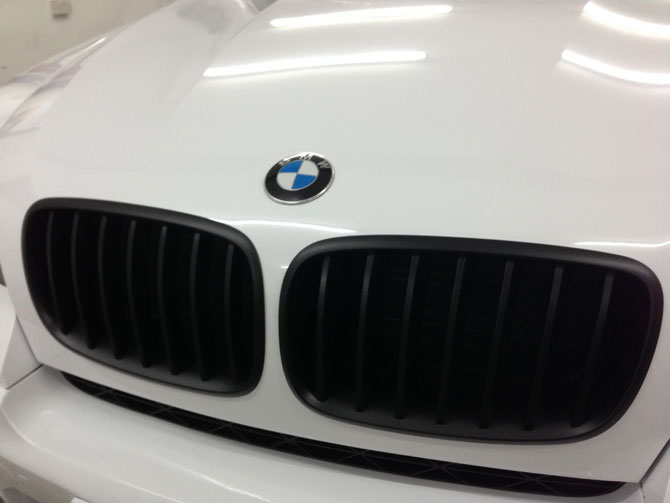BMW Wrapped Glossy White