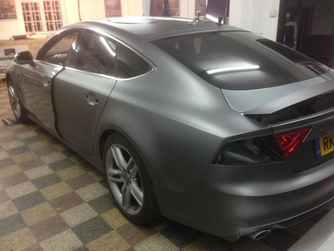 Audi A7 Matte Grey