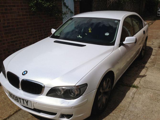 BMW - Vinyl Car Wraps London | Wrapping Cars