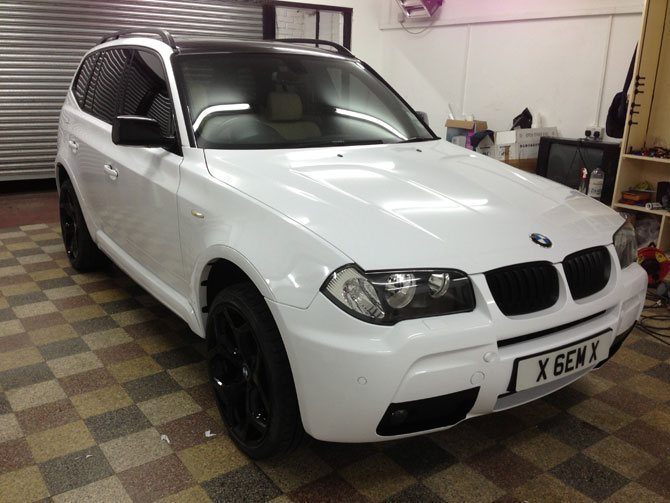 Bmw Vinyl Car Wraps London Wrapping Cars