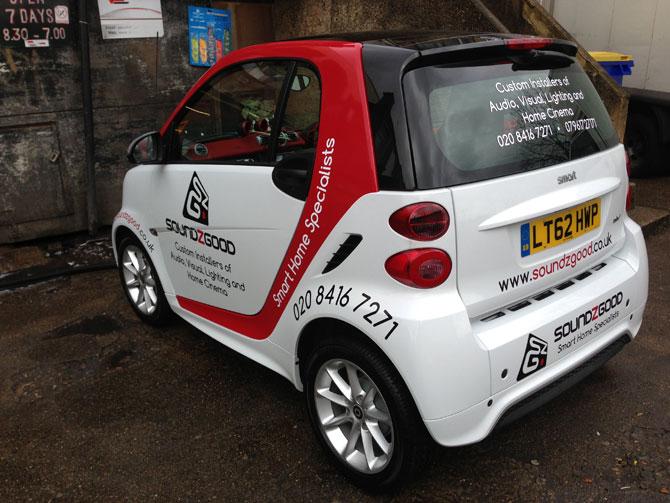 London Window Tinting >> Vehicle Graphics London - Van Wrapping and Vehicle Branding