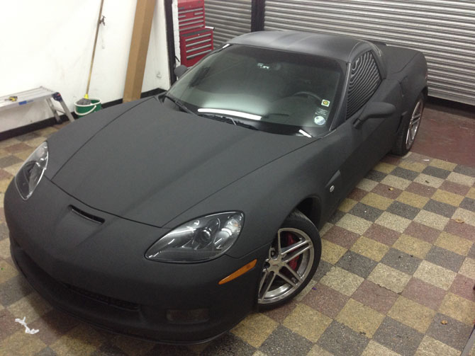 London Window Tinting >> corvette wraps london