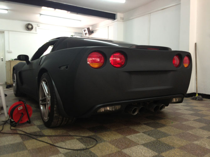 corvette-super-matte-black-wrap