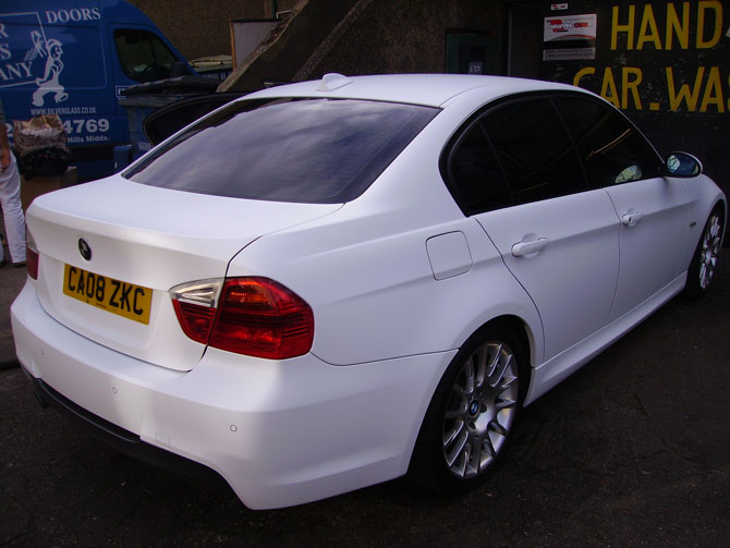 bmw-320-m-sport-matte-white-wrapping-cars