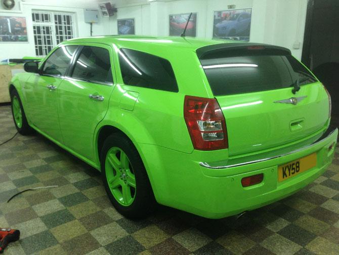 Chrysler c300 wrap - Vinyl wrap birmingham al ...