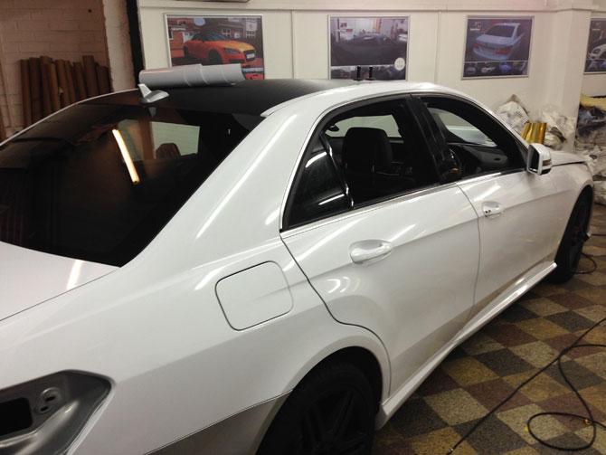 London Window Tinting >> mercedes carbon fiber roof