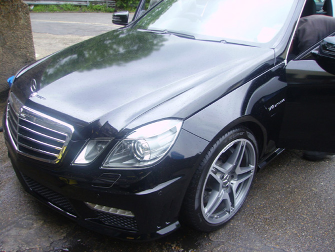Mercedes Amg E63 Gloss Black Vinyl Wrap By Wrapping Car