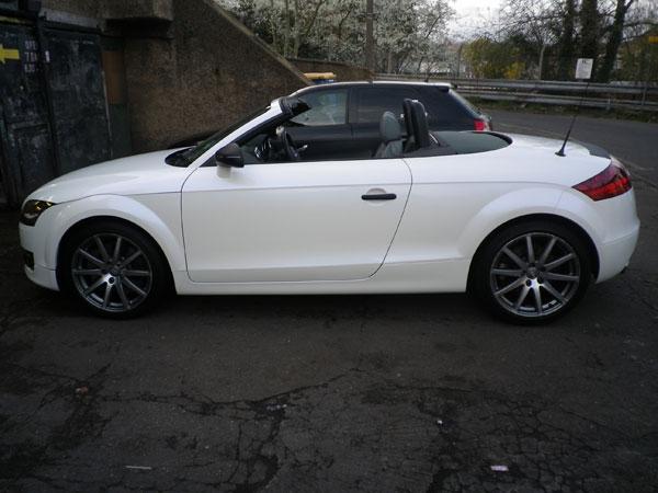 Audi Tt Pearl White