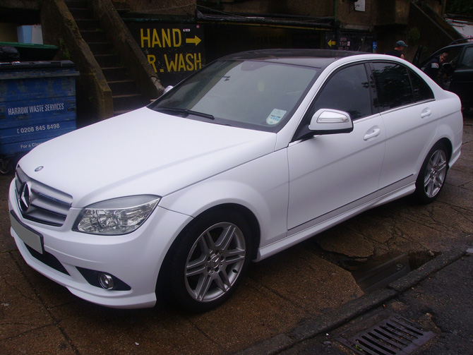 Mercedes Vinyl Car Wraps By Wrapping Cars London