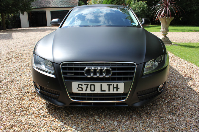 matte black audi a6. audi a5 coupe matte satin black full wrap fomr grey paint wrapping cars london a6