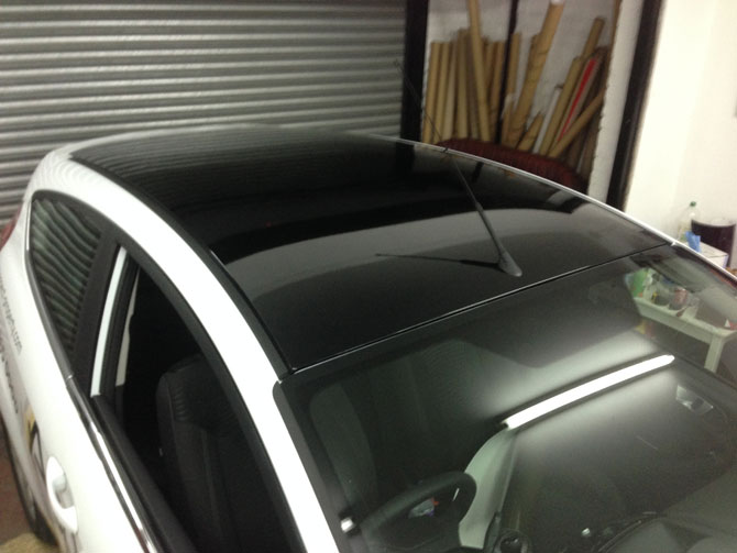Partial Car Wrap London Wrapping Cars
