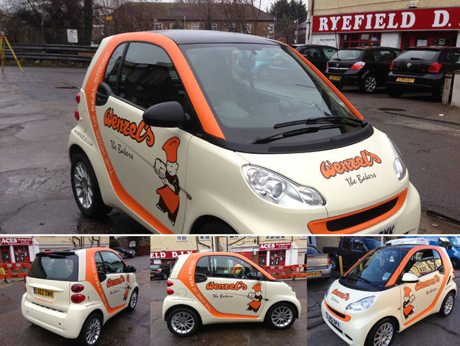 Vehicle graphics branding london